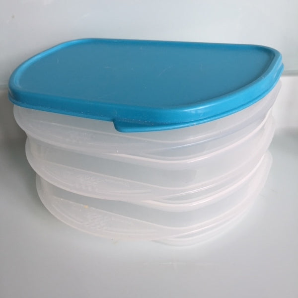 Tupperware Fridge Set 3 Half Stackables