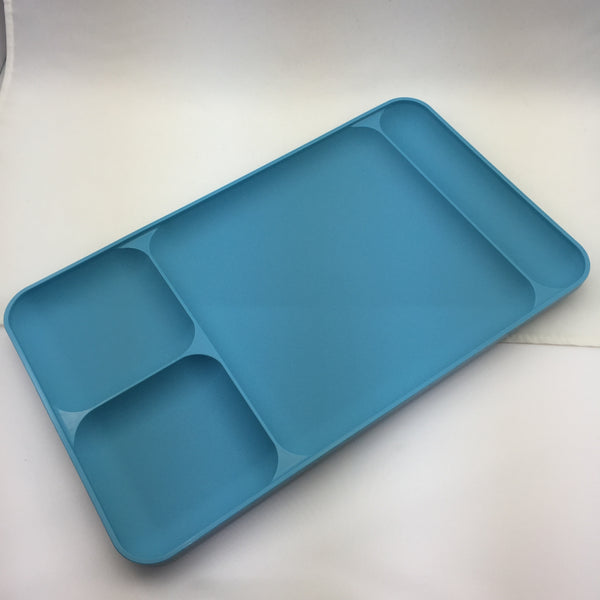 Sectioned Tupperware: Tupperware Vintage Large Divided Trays