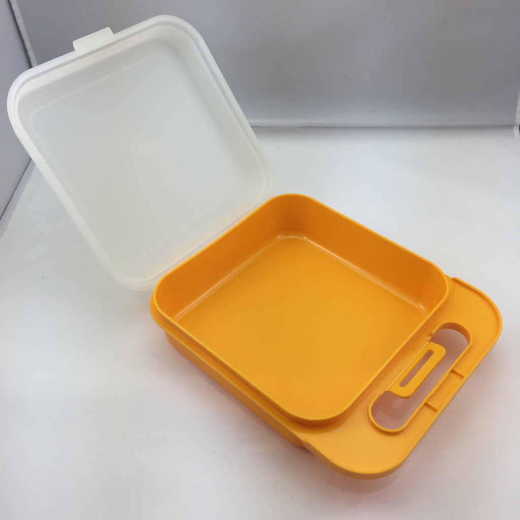 Tupperware Vintage Large Square Lunch Box