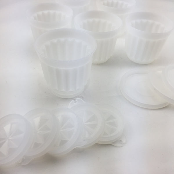 Tupperware Vintage Individual Jelly Moulds
