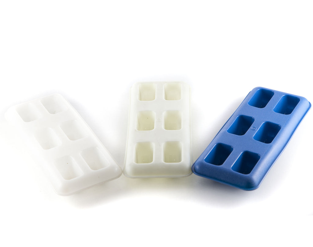 Vintage Ice Cube Trays - Set of 3