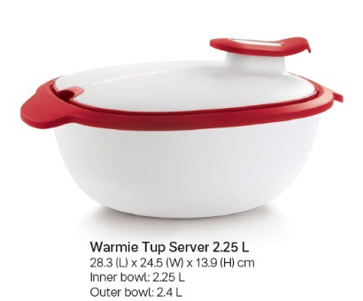 Tupperware Warmie Tup Insulated Server