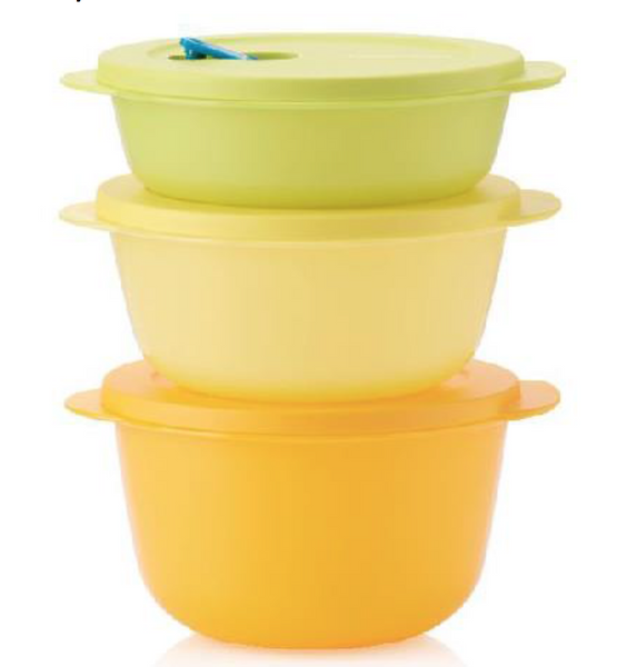 Tupperware Crystalwave Microwave Containers