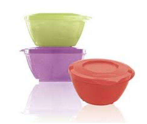 Tupperware Bowls 425ml Stack Store Serve (with a Twist)
