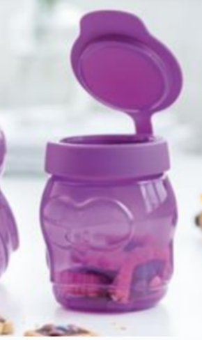 Tupperware Children's Kids Snack Pots