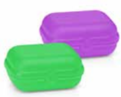Tupperware Oyster Snack Containers