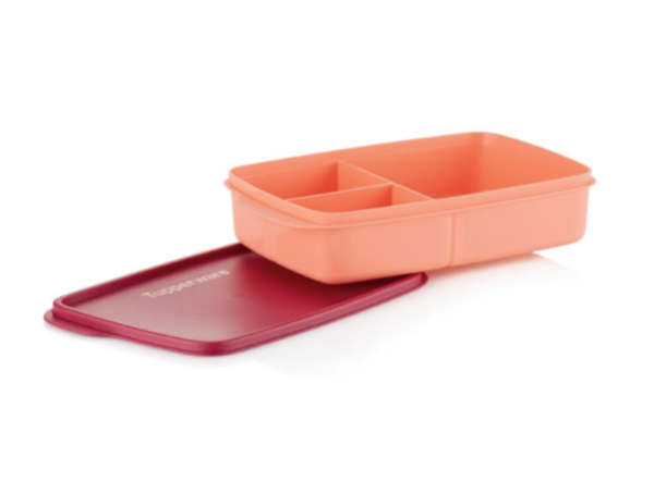 Tupperware Divided Lunch Box