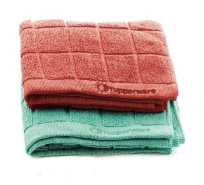 Tupperware Microfibre Dish Drying Towel Tea Towel