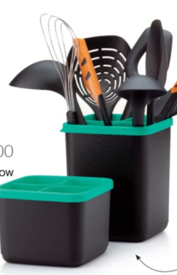 Tupperware Utensil Holders