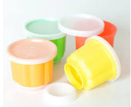 Tupperware Jelly Moulds
