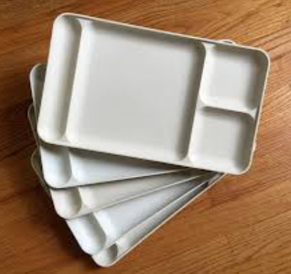 Tupperware Meal Dinner Tray New Vintage