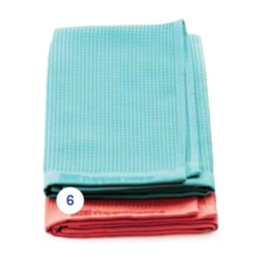 Tupperware Microfibre Glass And Window Towel