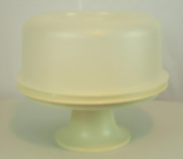 Vintage Cake Keeper with Stand and COVER