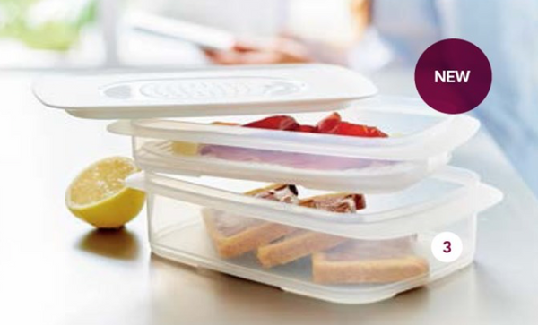 Tupperware Cool Stackable Fridge Stackables