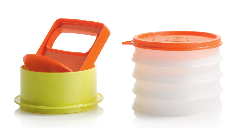Tupperware Hamburger Press - New Colour
