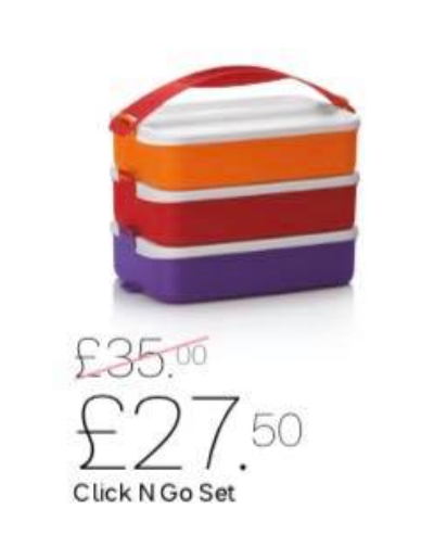 Click N Go Lunch Set Tiffin Style