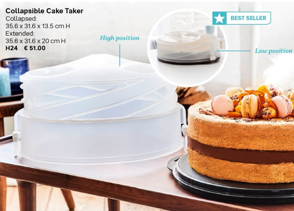 Tupperware Cake Takers