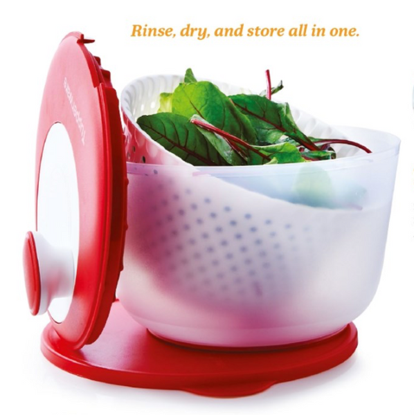 Tupperware Spinning Chef Lettuce Spinner