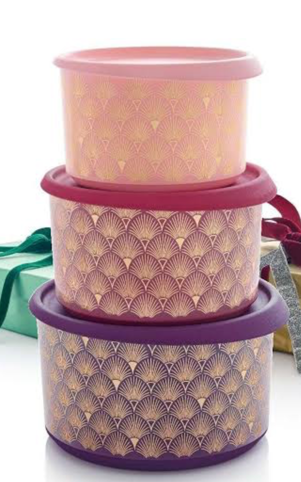 Christmas Gatsby Canister Set One Touch