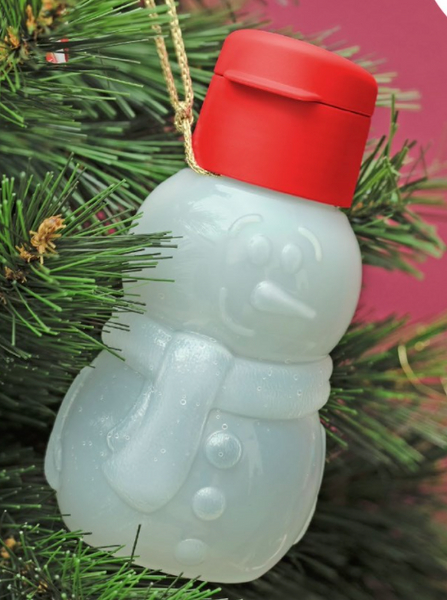 Christmas Eco Water Bottle Snowman & Father Christmas Set