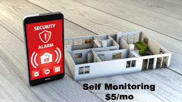 Self Monitoring $7.50/mo or $60/year