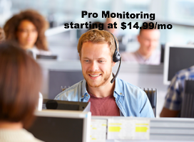 UL listed Professional Monitoring