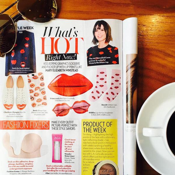 Wonder Waist Liner Featured in OK Magazine