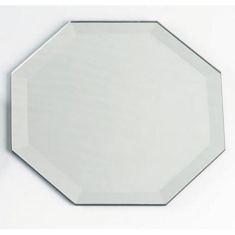 "Octagon Beveled Mirror 12"" - Enchanted Illuminations - 1"