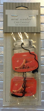 2 Pack Mini Scents Air Fresheners Cranberry Grapefruit - Enchanted Illuminations