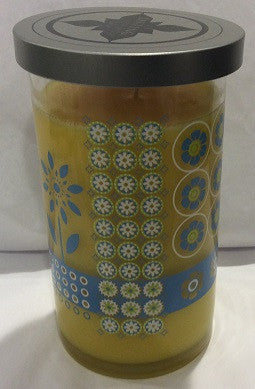 20 oz Sunshine Kaleidoscope Fashion Jar Candle - Enchanted Illuminations
