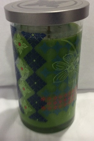 20 oz Lemongrass Kaleidoscope Fashion Jar Candle - Enchanted Illuminations