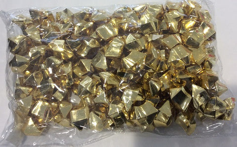 Acrylic Ice Crystals Solid Gold - Enchanted Illuminations