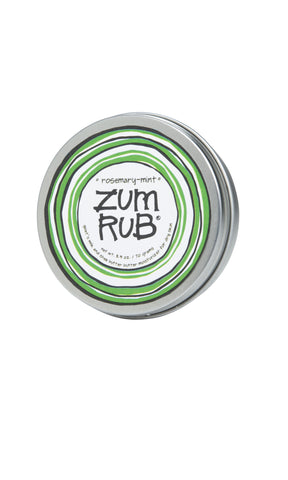 Zum Body Rub Rosemary Mint - Enchanted Illuminations