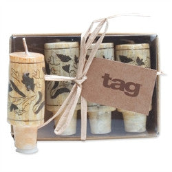 Cork Candle 4 Piece Set - Enchanted Illuminations