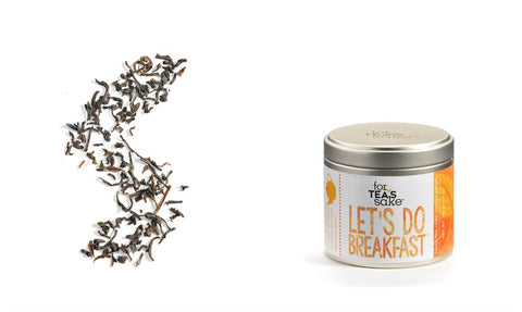 Loose Leaf Tea Canister Let's Do Breakfast - Enchanted Illuminations