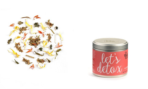 Loose Leaf Tea Canister Let's Detox - Enchanted Illuminations