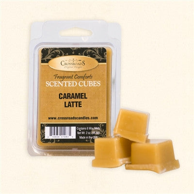 Caramel Latte Scented Wax Cubes - Enchanted Illuminations