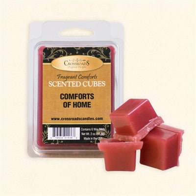Comforts of Home Scented Wax Cubes - Enchanted Illuminations