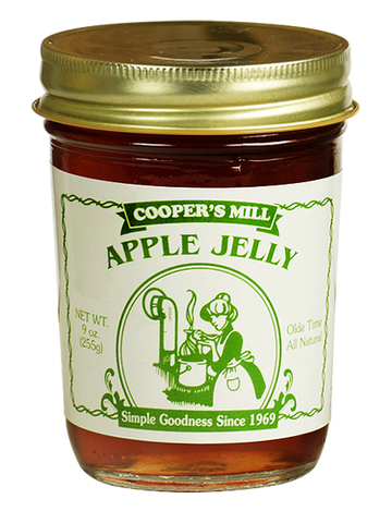 9oz USA Made Apple Jelly - Enchanted Illuminations