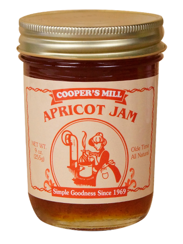 9oz USA Made Apricot Jam - Enchanted Illuminations