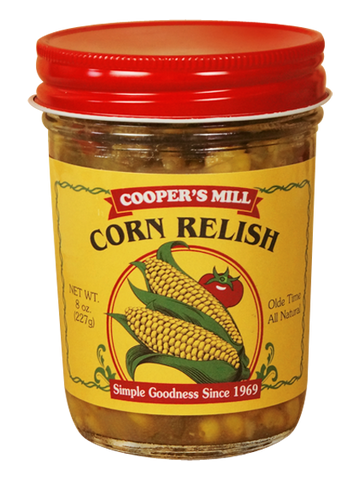 9oz USA Made Corn Relish - Enchanted Illuminations