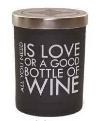 All You Need is Love or a Good Bottle of Wine 12 oz Expression Candle - Enchanted Illuminations