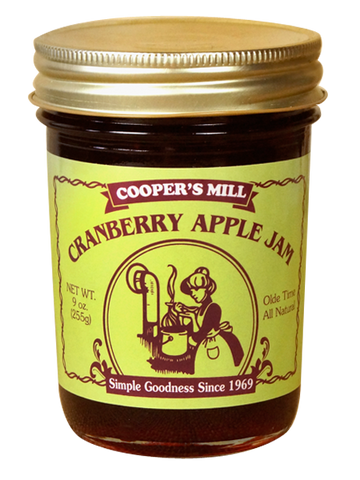 9oz USA Made Cranberry Apple Jam - Enchanted Illuminations