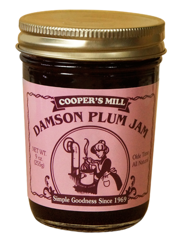 9oz USA Made Damson Plum Jam - Enchanted Illuminations