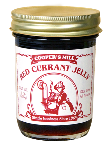 9oz USA Made Red Currant Jelly - Enchanted Illuminations