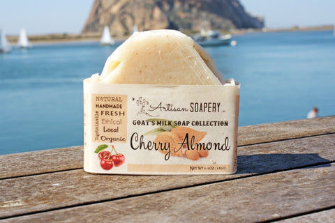 Cherry Almond Goat's Milk Soap