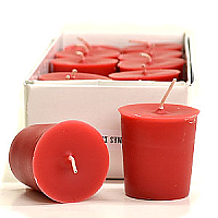 15 Hour Hand Poured Apple Cinnamon Votives - Enchanted Illuminations