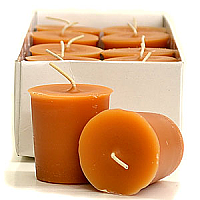 15 Hour Hand Poured Autumn Harvest Votives - Enchanted Illuminations