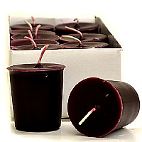 15 Hour Hand Poured Black Cherry Votives - Enchanted Illuminations