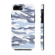 Blue Camo Case Mate Tough Phone Cases | The Chocolate Chicken | Modern Farmhouse Home Decor